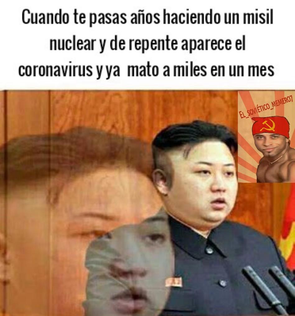 Pobre el kim - meme