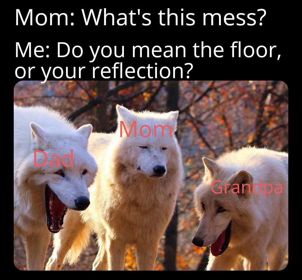 Classic family moment... - meme