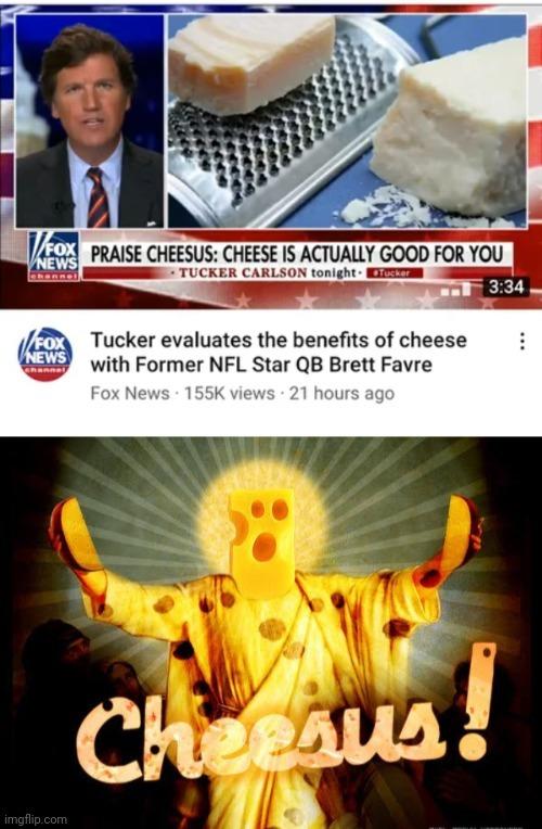 Cheesus christ - meme