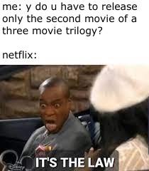 netflix kindof dum - meme