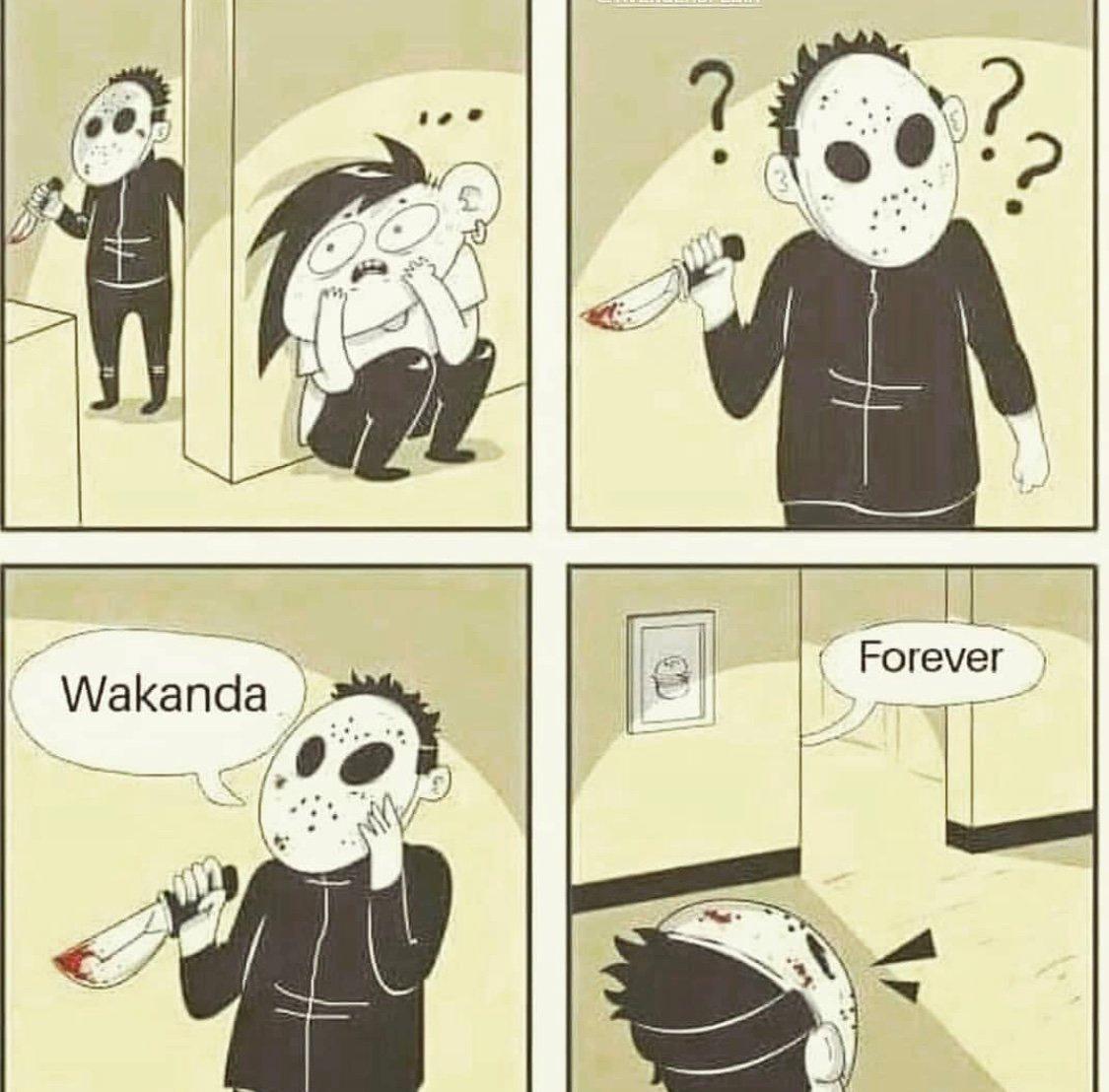 Wakanda Forever Brother - meme