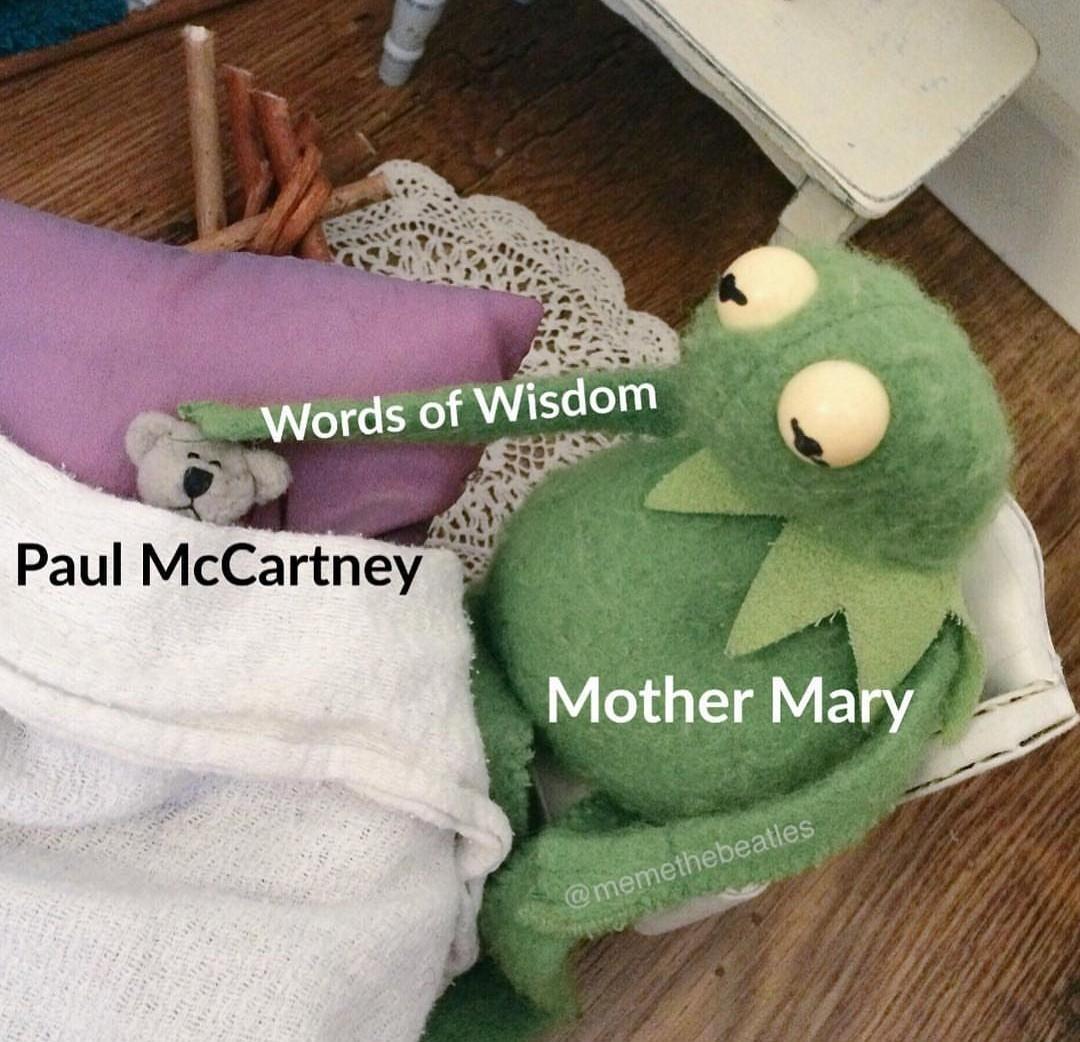 Let it be - meme
