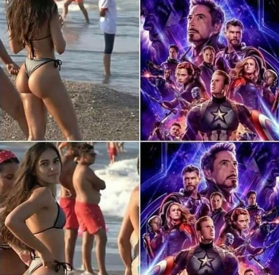Thor não tá nem aí :grin: . Belo cagador o da moça,:sweet: - meme
