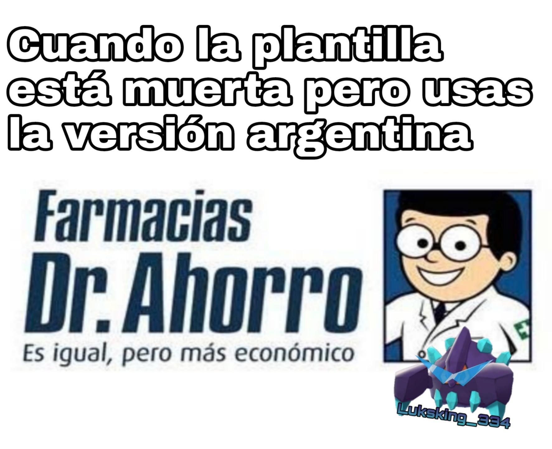 Antigripales - meme