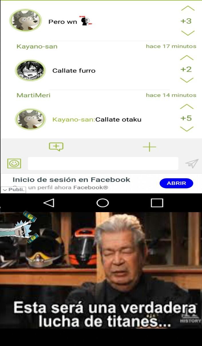 Furro vs otaku - meme