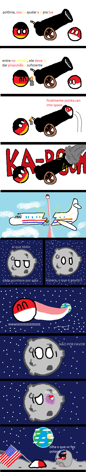 o titulo finnally go to the space (traduzido por: yuribrun) - meme