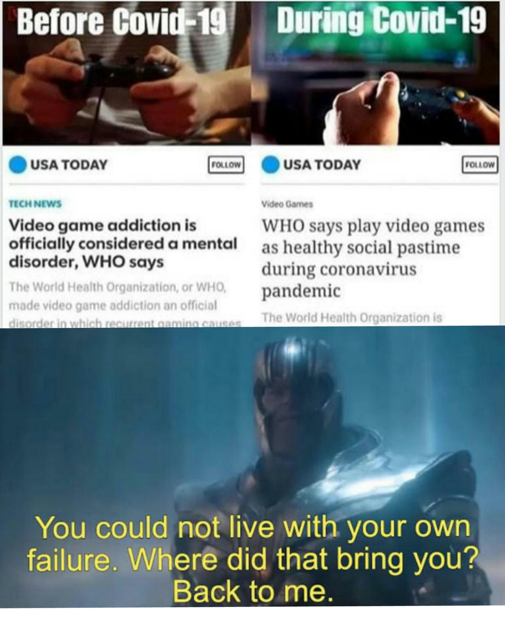 People who can't stand others enjoying life and earning  by playing games are jealous ass pussies. Cowards - meme