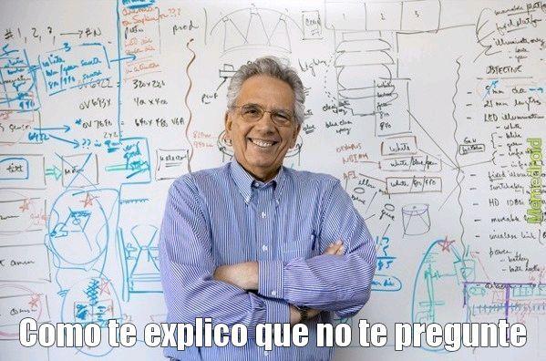 Profesores - meme