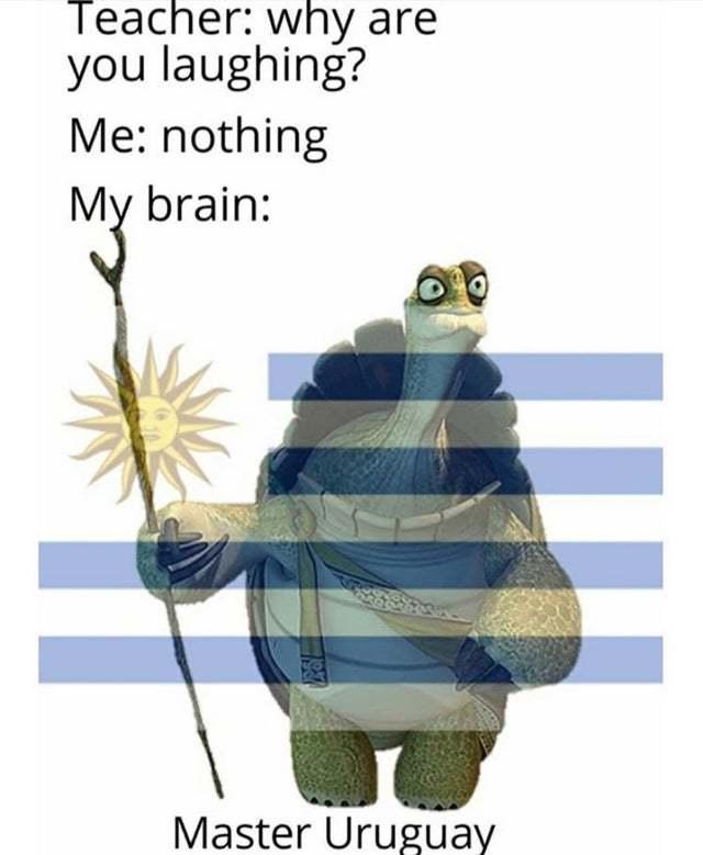 Master Uruguay - meme