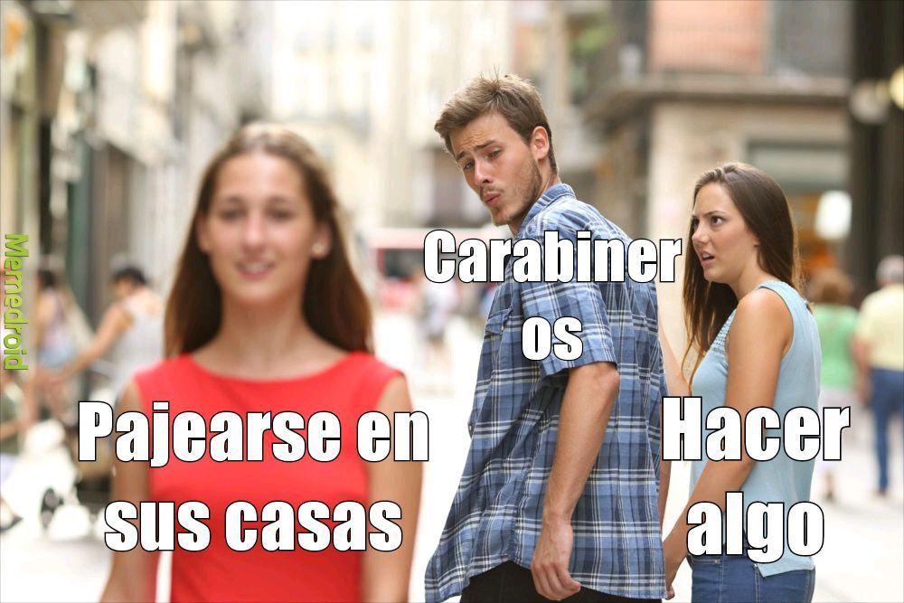 Carabineros - meme