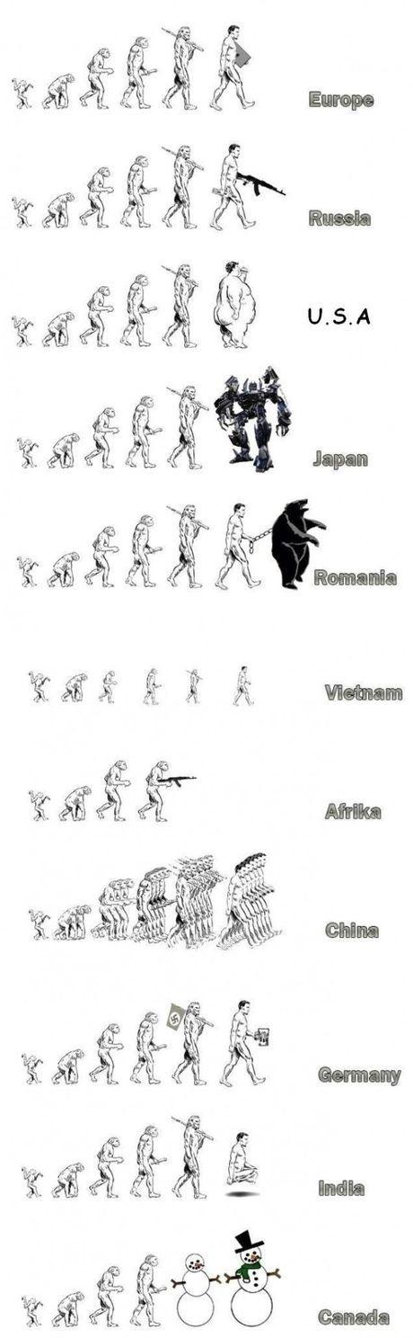 Evolution of reposts - meme