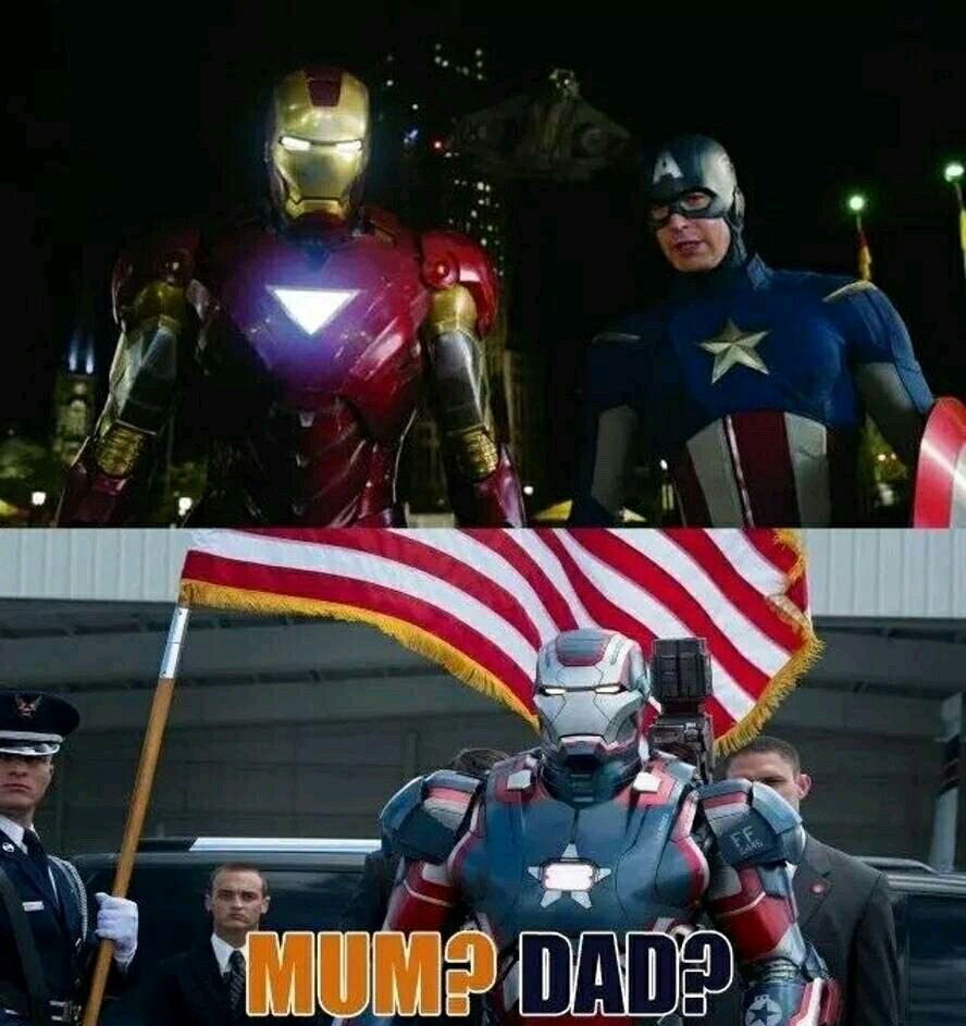 Iron Patriot/WarMachine - meme