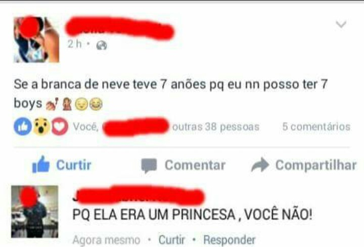 Titulo foi virar um princesa - meme