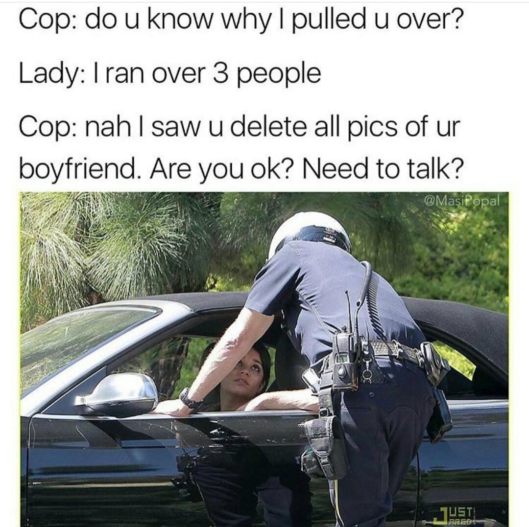 Fake police - meme