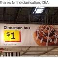 i want a cinnamon bun that size