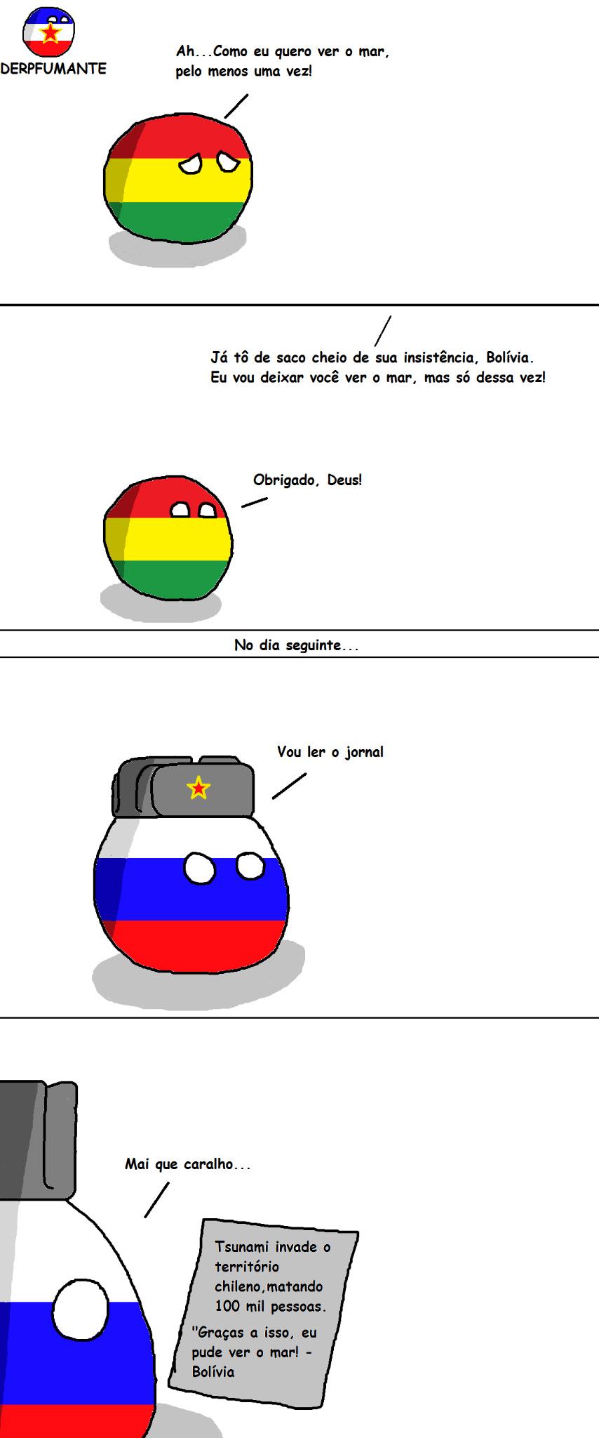 Bolívia... - meme