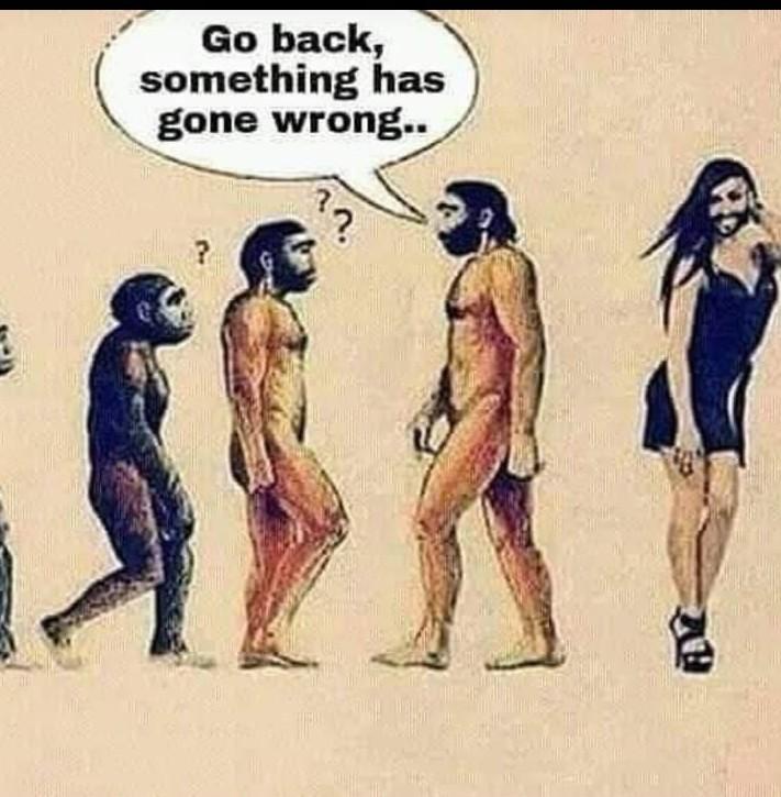 Go back go back now - meme