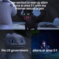 Just crazy for alien booty