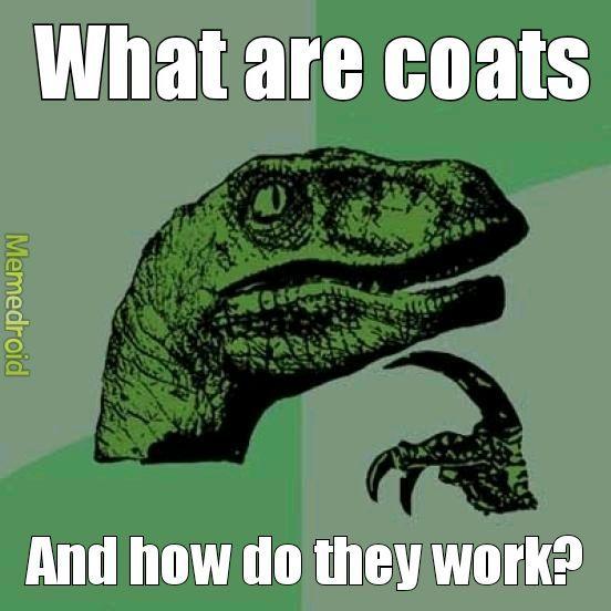 What are coats hmmmm - meme