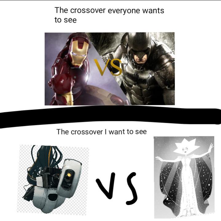The Best crossover - meme