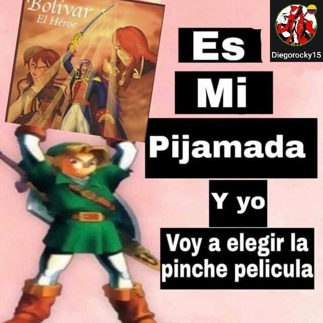 El unico anime de colombia - meme