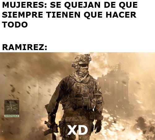 Un kpo el Ramirez - meme