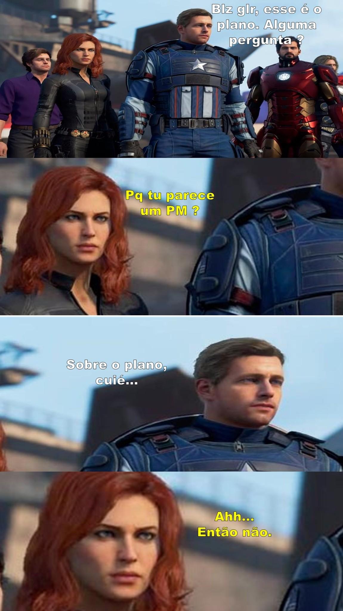 Comandante América - meme