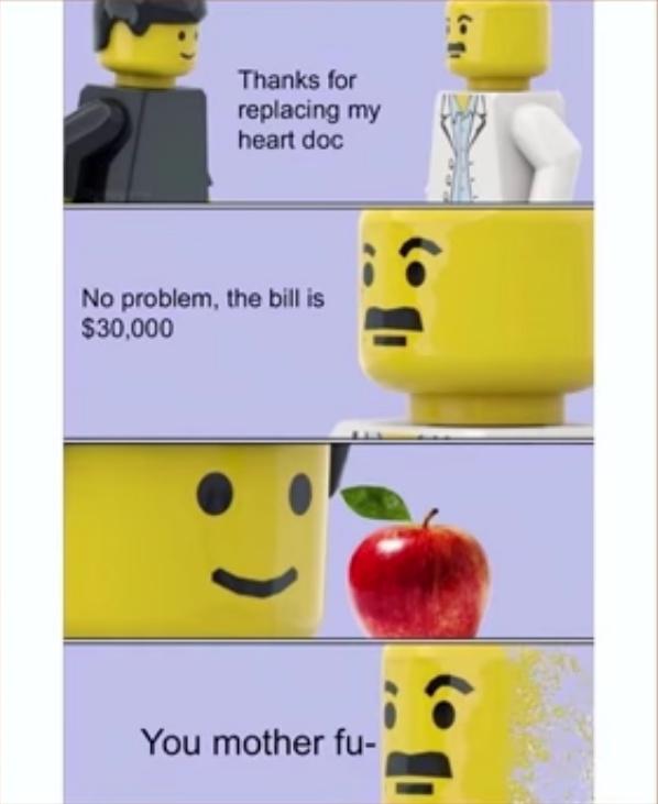 the apple.. - meme