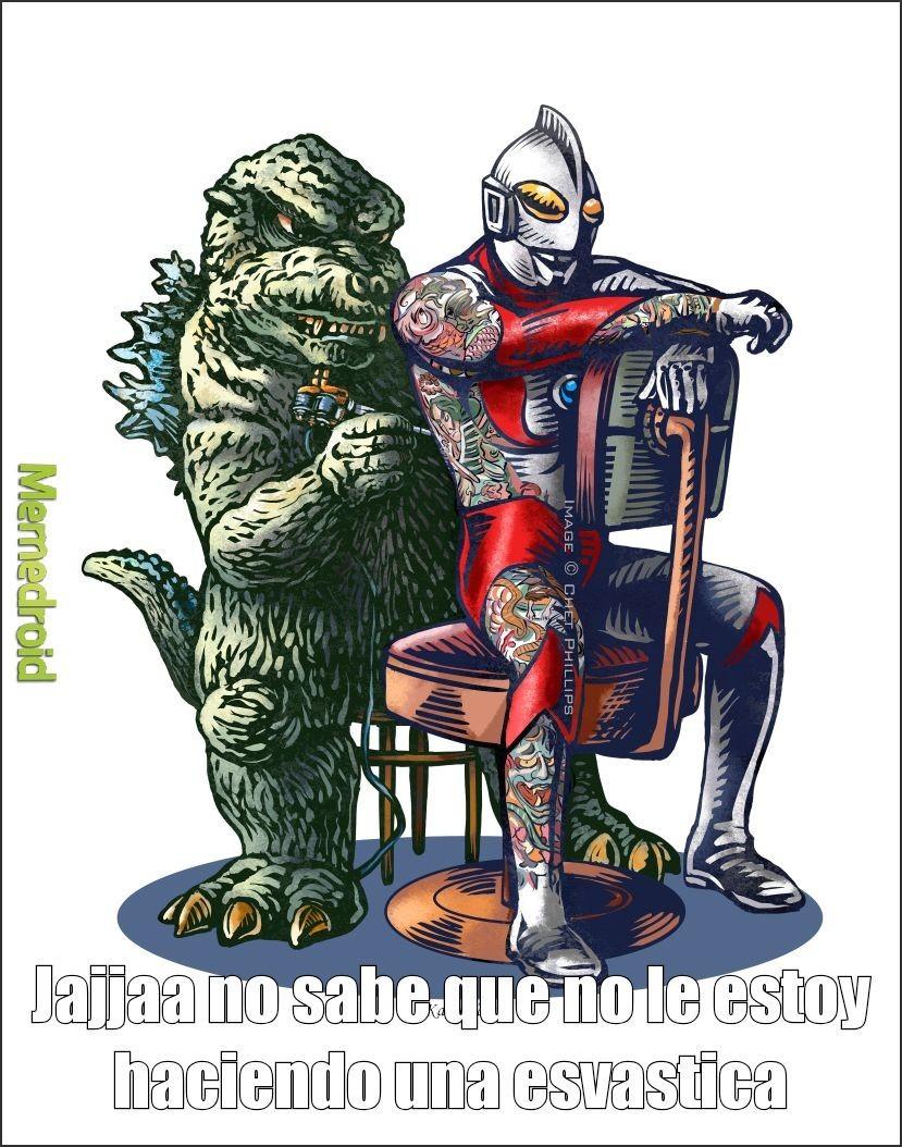Ultraman fue truliado sadtroll: - meme