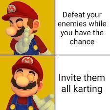 Yes let's all race - meme