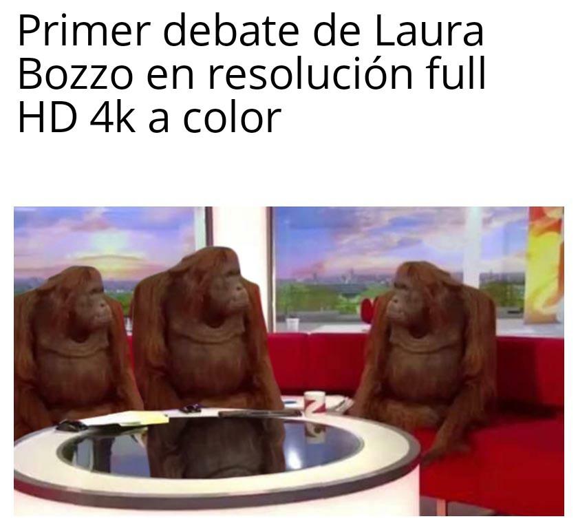 Encima a color - meme