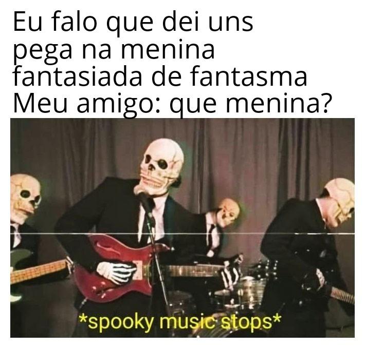 Fantasma existe? - meme