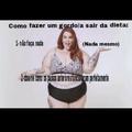 Gordo fazendo dieta é que nem fumante parar de fumar