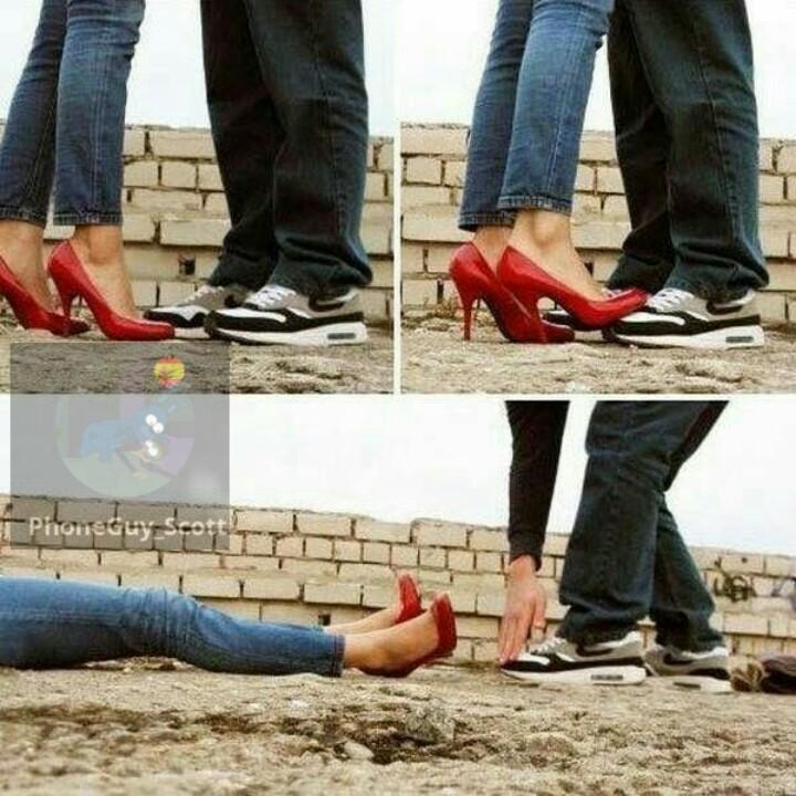 Nadie me toca los zapatos nuevos - meme
