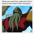 lol Vilgax, thumbs up to your attitude