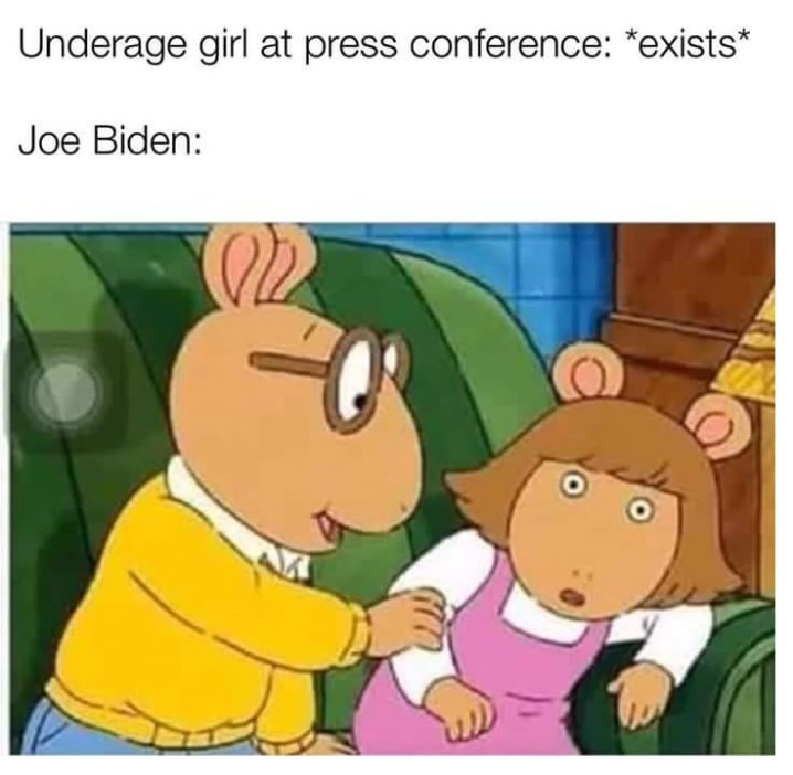 dongs in a biden - meme