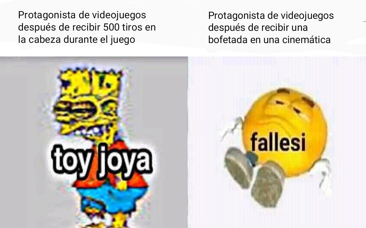 Lógica de videojuegos - meme