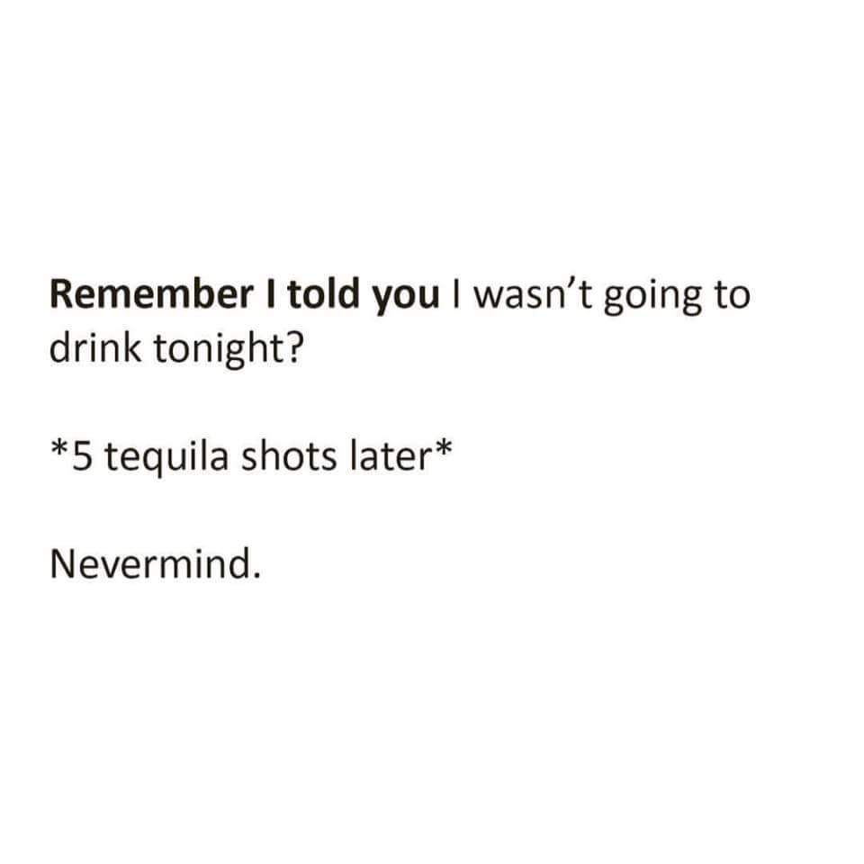because no good story started with 5 shots of milk - meme