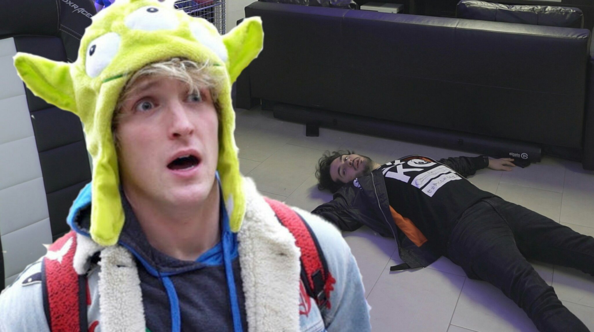Ste Logan paul - meme