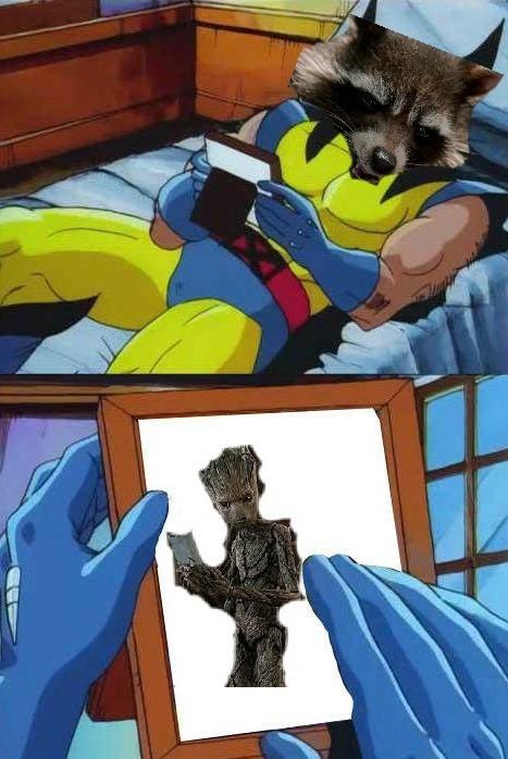 Adios groot - meme