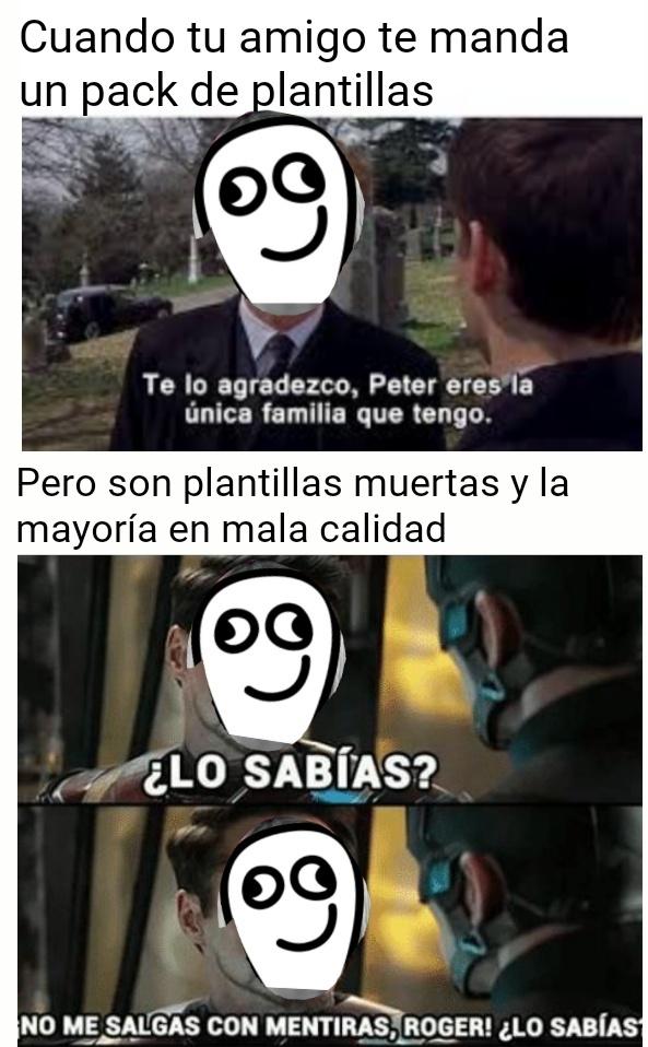 Top Memes De Plantillas En Espanol Memedroid