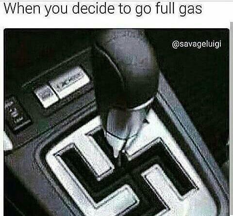 Hoje to afim de dar um gás - meme