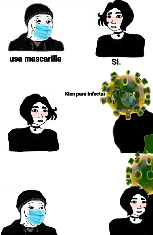 Kien para infectar  - meme