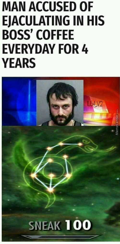 Drinking cum for 4 year - meme
