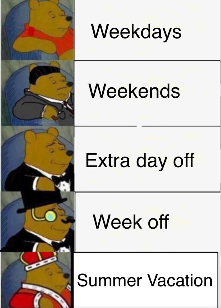 Days Off - meme