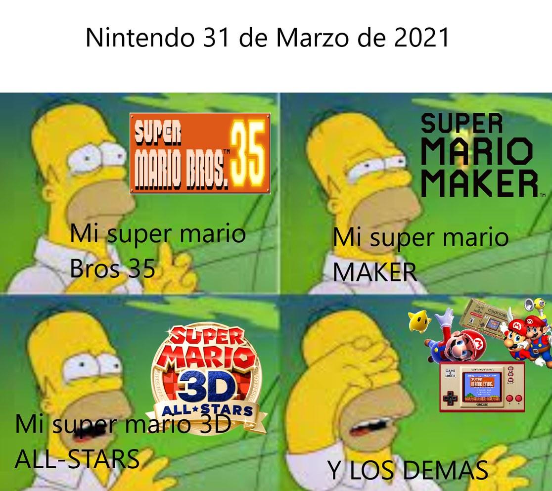 Nintendo 31-03-2021 - meme