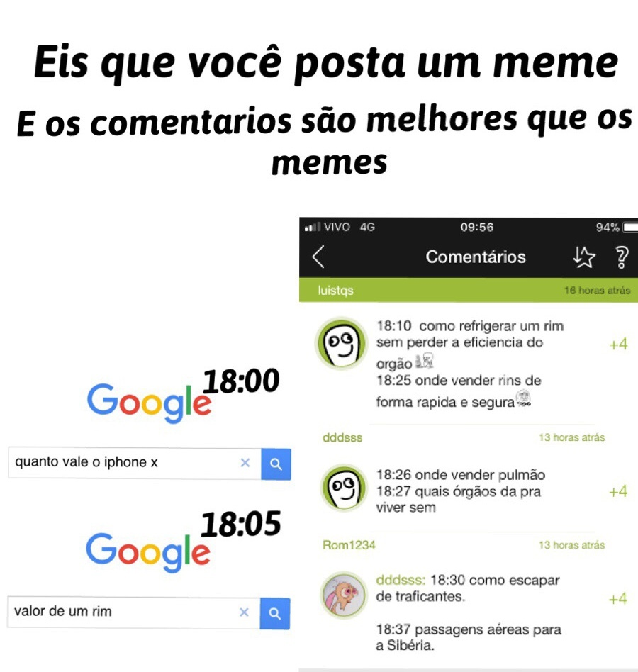 mto melhor - meme