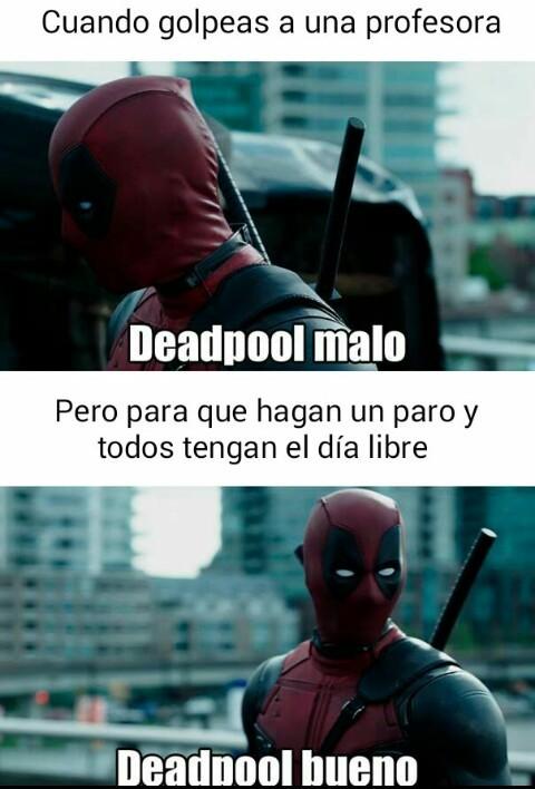 Deadpool bueno - meme