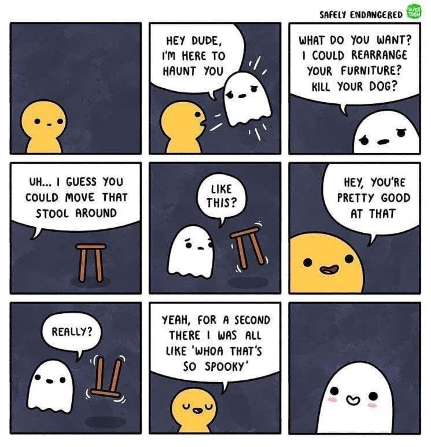 Wholesome spooks - meme