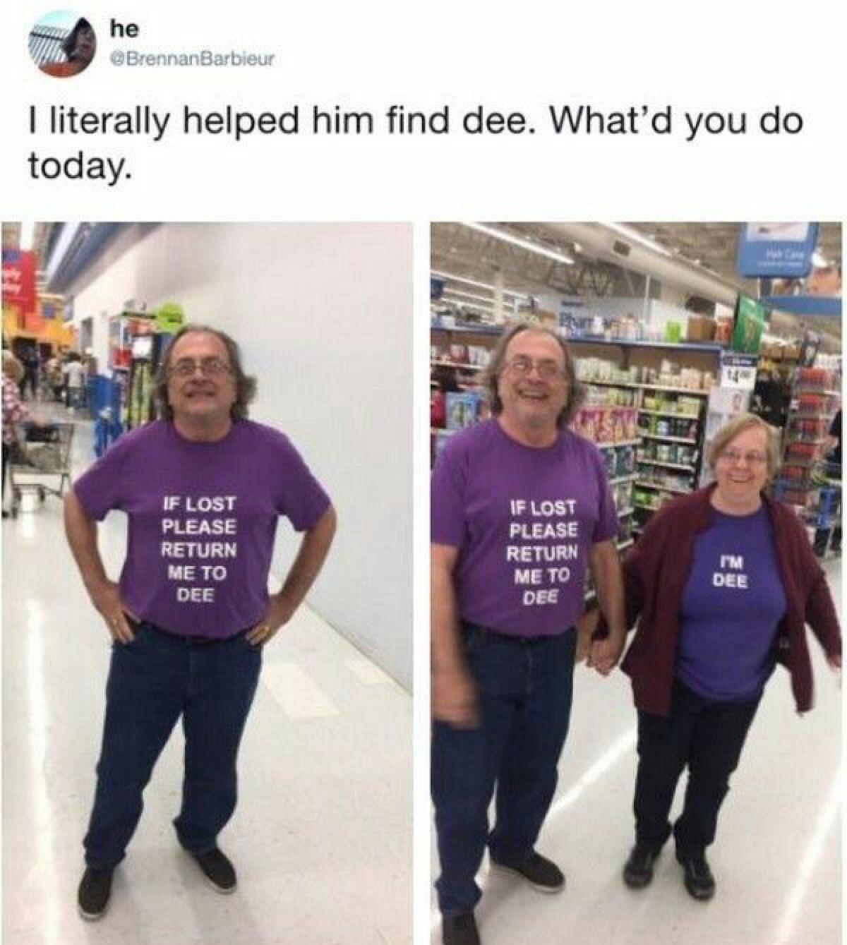 matching shirts - meme